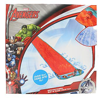 Marvel Avengers Kids Slip and Slide Water Slide with Sprinklers 100x615cm
