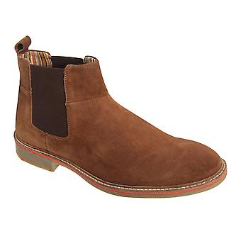 Roamers Mens Casual Gusset Boots
