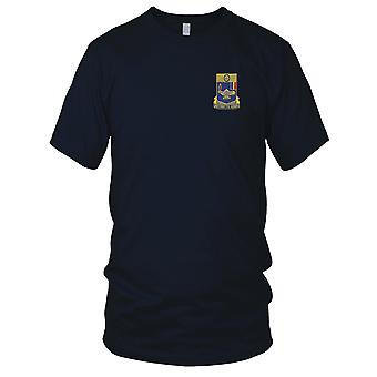 US Army - 183rd Infantry Regiment Embroidered Patch - Ladies T Shirt