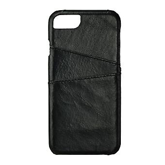 GEAR casing Onsala leather black with Slot iPhone 6/7 4.7
