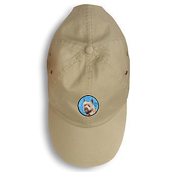 Carolines schatten LH9365BU-156 Cairn Terriër Baseballcap