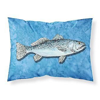 Carolines Schätze 8770PILLOWCASE Fisch - Forelle Feuchtigkeit Feuchtigkeitstransport Stoff standar