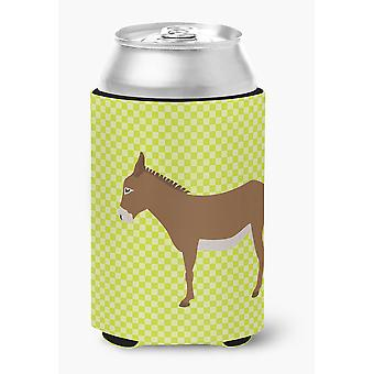 Carolines Treasures  BB7675CC Cotentin Donkey Green Can or Bottle Hugger