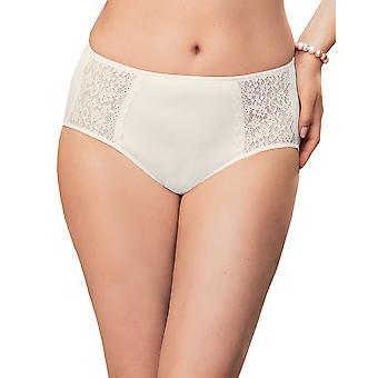 Anita 1512-612 Women's Comfort Havanna Crystal White Full Panty Highwaist Brief