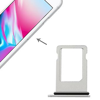 SIM card holder adapter SIM tray for Apple iPhone 8 4.7 silver