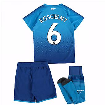 2017-18 arsenal lejos Mini Kit (Koscielny 6)