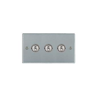 Hamilton Litestat Hartland Satin Chrome 3g 20AX 2Way Toggle SC