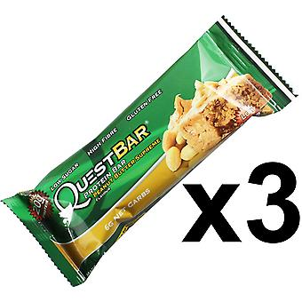 Quest Nutrition Peanut Butter Supreme Protein Bar Individual 3 x 60g Bars
