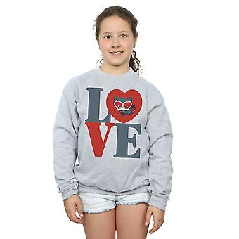 DC Comics Girls Chibi Catwoman Love Sweatshirt