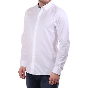 Ted Baker Mens Henree Ls Satin Stretch Shirt