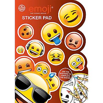 Emoji Sticker Pad Childrens Activity Stickers