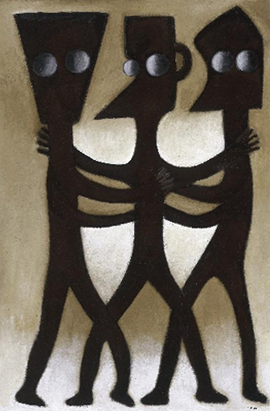 Untitled IV Poster Print by Ephrem Kouakou (13 x 19)