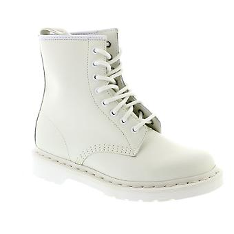 Dr Martens 1460 Mono - Mono White Smooth (Leather) Womens Boots