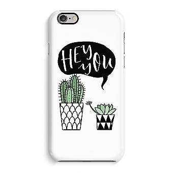 iPhone 6 / 6 s Full Print Fall (glänzend) - Hey du Kaktus