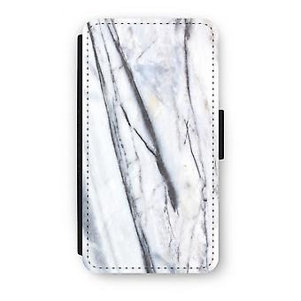 Samsung Galaxy S6 Edge Flip Case - Striped marmer