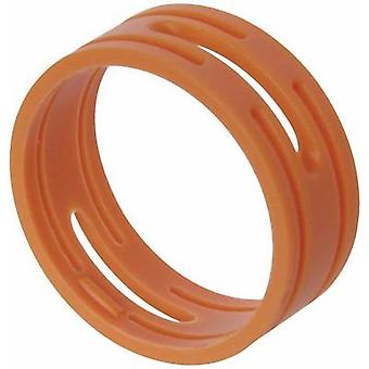 ID ring Neutrik XXR-SET-3 Orange 10 pc(s)