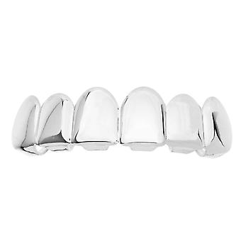 Grillz - silver - * one size fits all * - TOP
