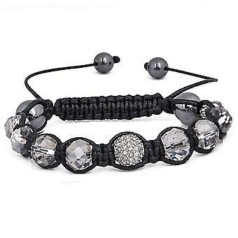 Iced out unisex bracelet - SHINY SHAMBALLA