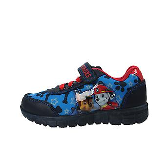 Boys Infant Paw Patrol Blue Canvas Trainers Sport Shoe Hook & Loop  Sizes 5-10