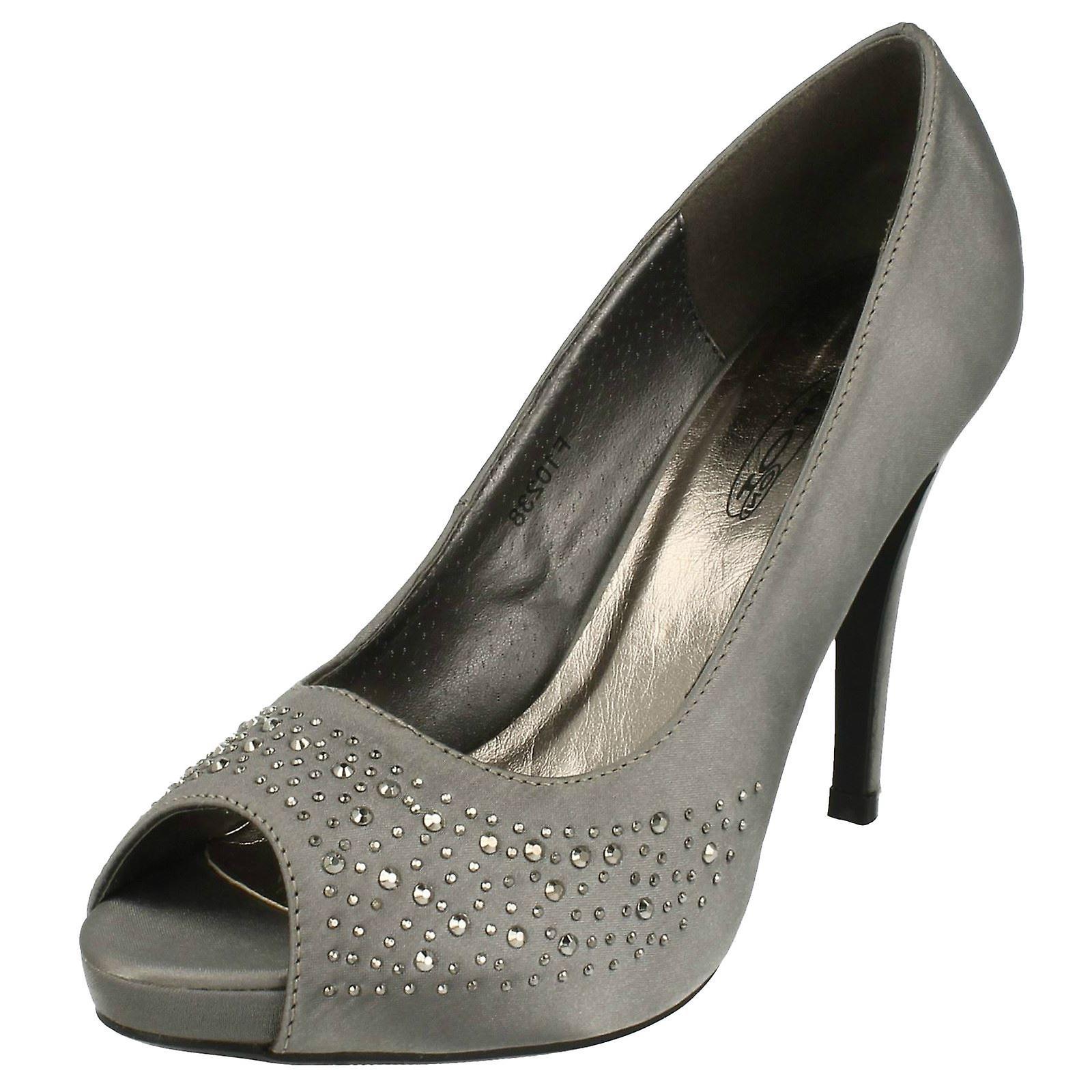 Ladies Spot F10238/Man/Woman/Minimum On Stiletto Heel Peep Toe Evening Shoes F10238/Man/Woman/Minimum Spot 07e694