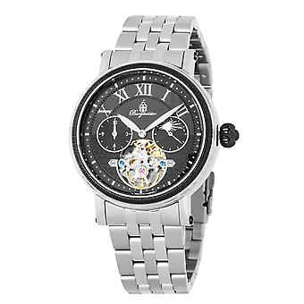 Burgmeister BM344-621 Lakewood, Gents automatic watch, Analogue display - Water resistant, Stylish stainless steel bracelet, Classic men's watch