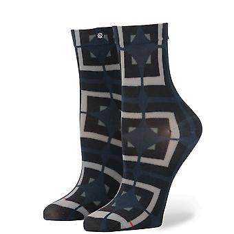 Postura como locos calcetines - negro