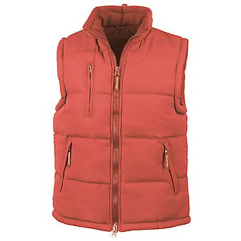 Result Womens Hooded Micro Quilted Bodywarmer Gilet