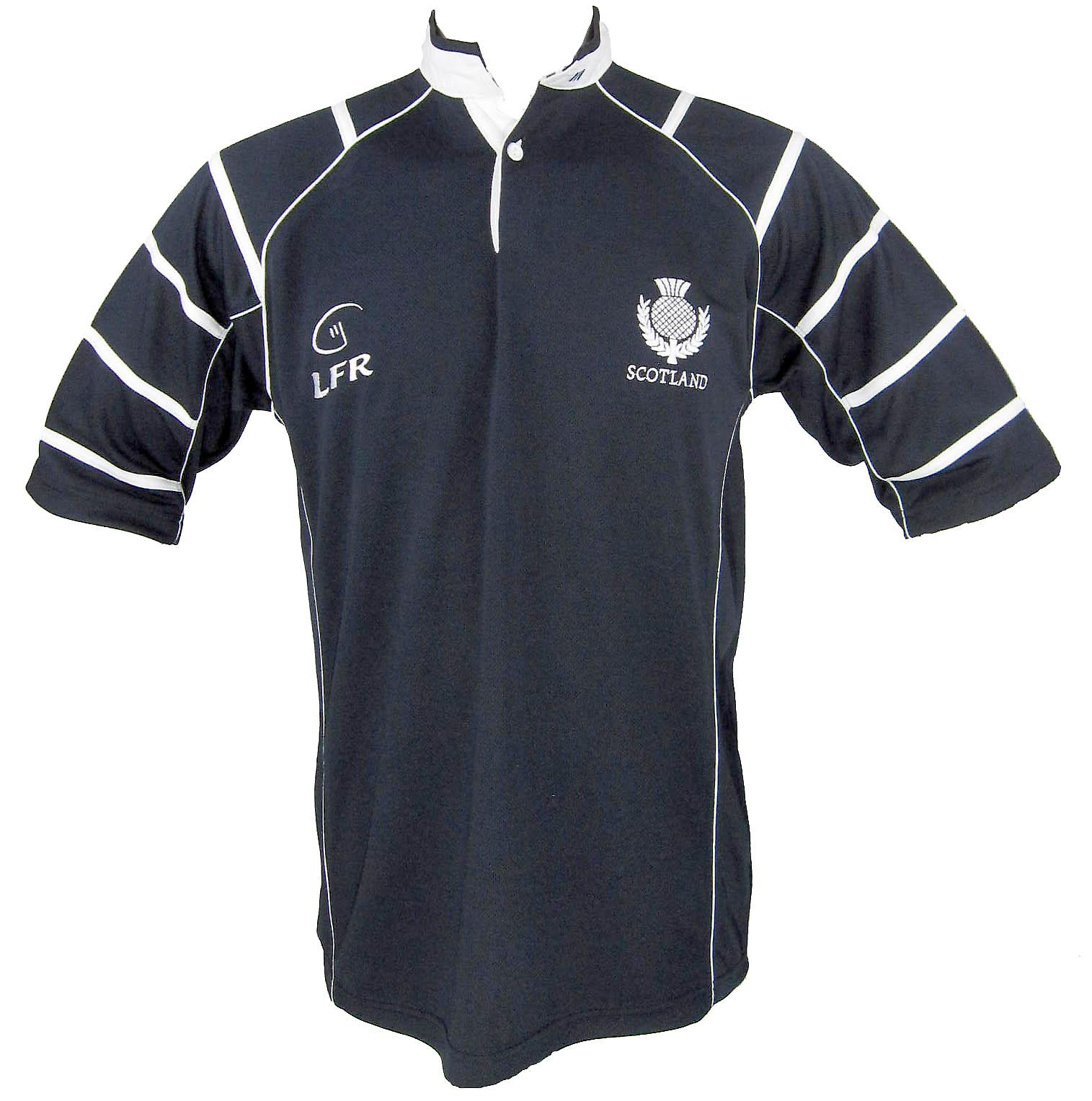 Scotland Thistle Breathable Rugby Shirt by Live for Rugby Sizes XS - 3XL