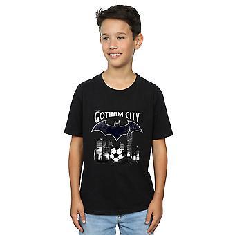 DC Comics Boys Batman Football Gotham City T-Shirt