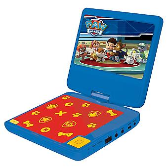 Lexibook Paw Patrols Portable DVD Player with Car Adaptor and Remote (DVDP6PA)