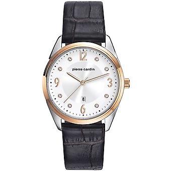 Pierre Cardin ladies watch wristwatch Bourse leather PC107862F03