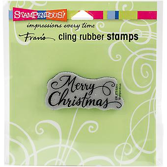 Stampendous Cling Stamp 4.75