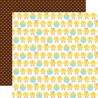 Hello Easter Double-Sided Cardstock 12