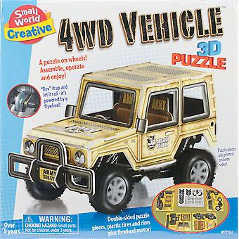 4Wd Vehicle 3D Puzzle-