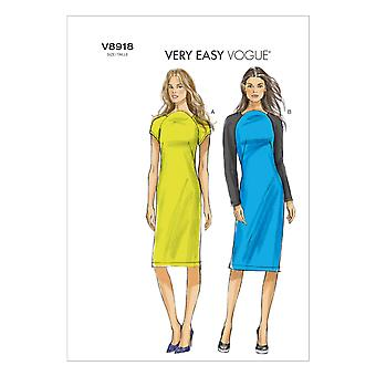 Misses' Dress-14-16-18-20-22 -*SEWING PATTERN*