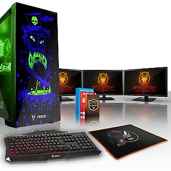 Feroce GOBBLER Gaming PC, veloce Intel Core i7 8700 K 4,5 GHz, 1 TB HDD, 16 GB di RAM, RTX 2060 6 GB