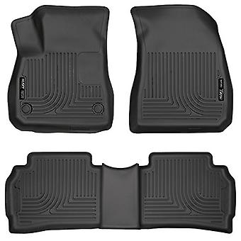 Husky Liners Front & 2nd Seat Floor Liners Fits 16-18 Malibu