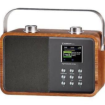 DAB+ Portable radio Albrecht DR 850 AUX, Bluetooth, DAB+, FM Wood, Silver