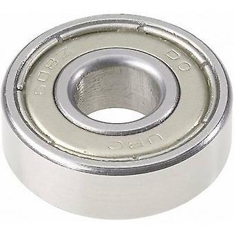 Deep groove ball bearing UBC Bearing 626 2Z Bore diameter 6 mm Outside diameter 19 mm Rotational speed (max.) 32000 rpm