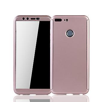 Huawei honor 9 Lite mobiltelefon skal skydd fall full tank skydd skyddsglaset ros