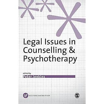 Legal Issues in Counselling  Psychotherapy by Jenkins & Peter
