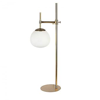 Maytoni Lighting Erich Modern Table Lamp , Cream Gold