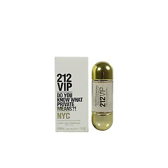 Carolina Herrera 212 Vip Eau De Parfum Vapo 30ml Womens Fragrance Spray Perfume