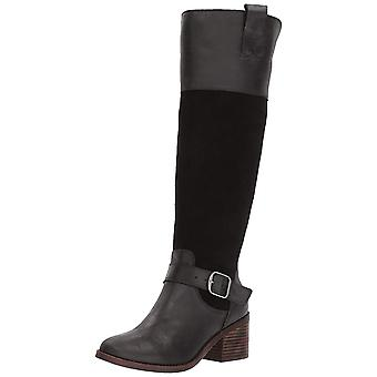 Lucky Brand Womens Kailan Leather Closed Toe Knee High Fashion Boots