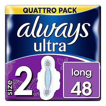 Always Ultra Long - Size 2 - 48 Pack