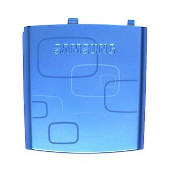 OEM サムスン i617 ブラック ジャック標準バッテリー ドア - ブルー