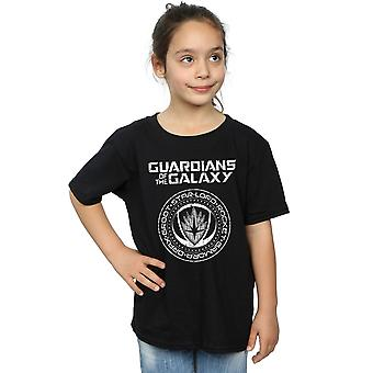 Marvel Girls Guardians of the Galaxy Vol. 2 Distressed Seal T-Shirt