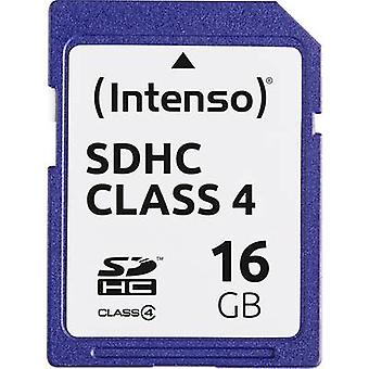 Intenso Blue SDHC card 16 GB Class 4