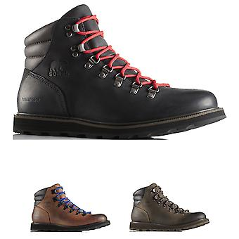 Mens Sorel Madson Hiker Waterproof Hiking Walking Leather Ankle Boots
