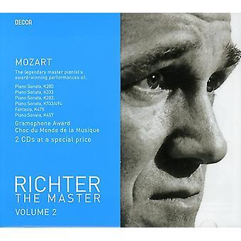 W.a. Mozart - Richter de meester, Vol. 2: Mozart [CD] USA import